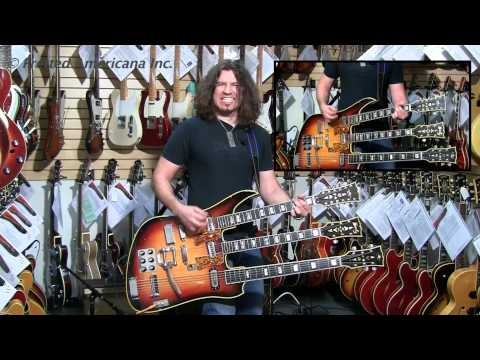 Phil X Goes APE! 1965 Koontz Custom Triple Neck