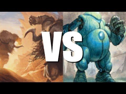 Magic Online  UR Pieces vs Affinity Pauper