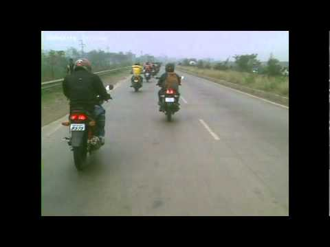 Riding with Ducati Monster - xBhp Mumbai-Pune Meet