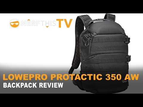 ♠ LOWPRO PROTACTIC 350 AW BACKPACK | REVIEW | 4K