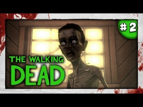 SLENDY? - JUMPSCARE D: - The Walking Dead: Episode 4 - Part 2 - Around Every Corner