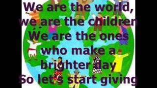 Baixar - We Are The World Children Of The World Project Lyrics Grátis
