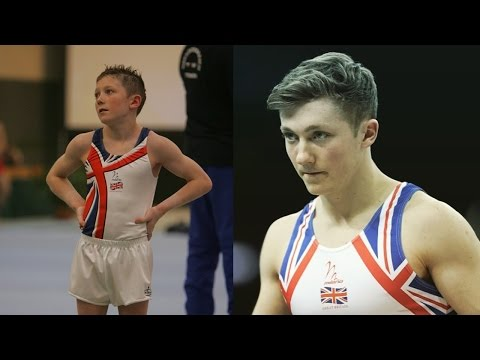 12 years old to 20 years old Transformation | Nile wilson Gymnastics