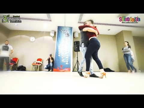 Eduardo & Victoria Kizomba Workshop Demo | AIDC-2015