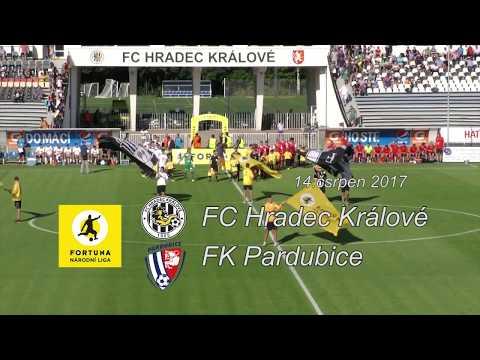 3. kolo FNL: FC Hradec Králové - FK Pardubice 2:1 (0:1)