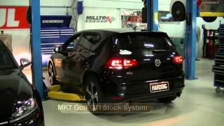 MK7 GTI Milltek Resonated Catback vs Stock