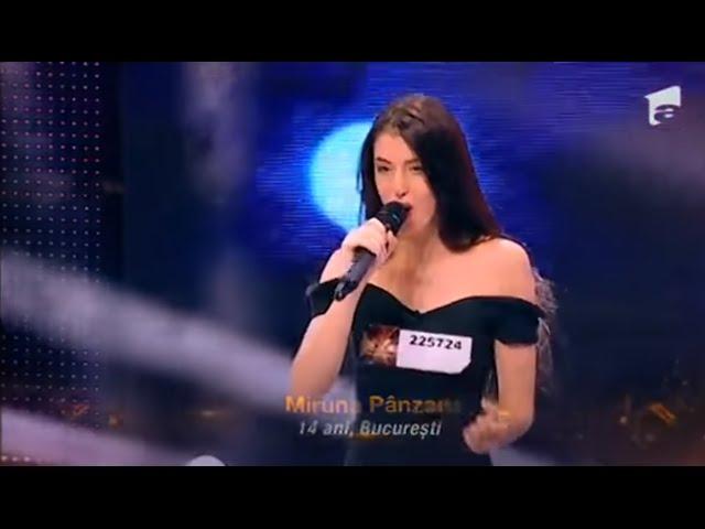 """Nicoleta Nuca - """"Nu sunt"""". Vezi aici cum cântă Miruna Pânzaru, la X Factor!"""