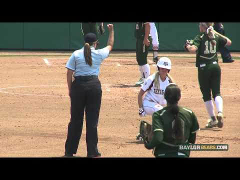 Baylor Softball: Highlights vs. Texas A&M (NCAA)