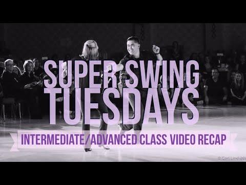 Super Swing Tuesdays Int/Adv Class w/Arjay Centeno WCS @Brix December 12