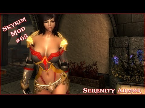 The Elder Scrolls V: Skyrim - Serenity Armor For CBBE V3 Mod