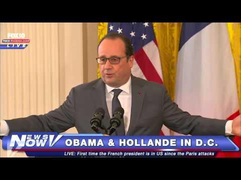 FNN: President Obama and French President Francois Hollande in D.C.