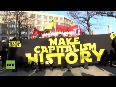 Protestas en Múnich: 'No a la paz con la OTAN'