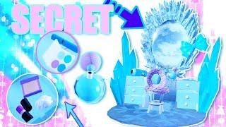 SECRET CRYSTAL VANITY ON EARTH! Full of MAKE-UP! Royale High LEAKS & UPDATES