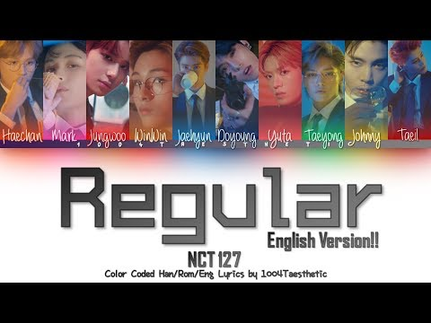 Download NCT 127 엔씨티 127 - Regular 레귤러 English Ver. Color Coded s Mp4 baru