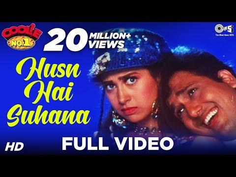Husn Hai Suhana - Coolie. No 1 | Govinda & Karisma Kapoor |...