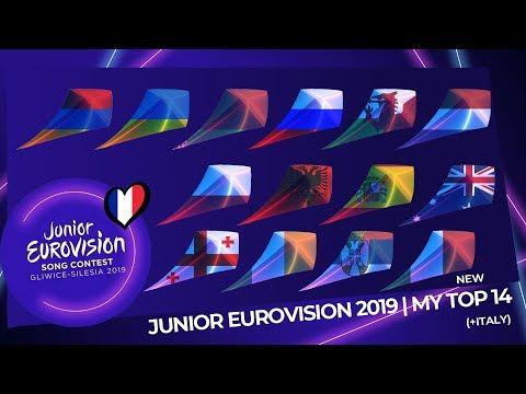 Junior Eurovision 2019 | My Top 14 (So Far) | (+Italy