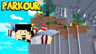 Minecraft: FIZ PARKOUR VOANDO IMPOSSÍVEL ‹ AMENIC ›