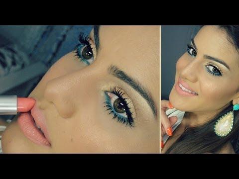Maquiagem Facil ! iluminada & Vibrante por Camila Coelho