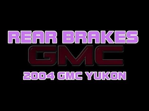 2004 GMC Yukon - How To Replace The Rear Brakes (Brake Pads)