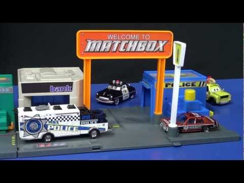 Matchbox Adventure Links Police Headquarters Review