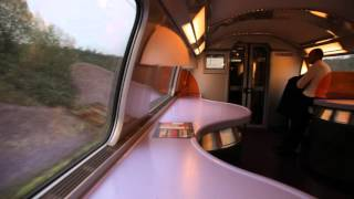 High speed ride on TGV up to 320 km/h (200 mph)
