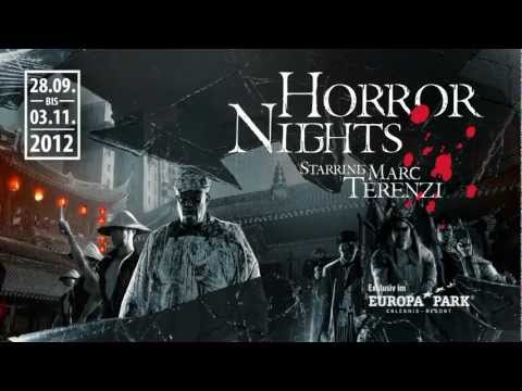 Trailer HORROR NIGHTS starring Marc Terenzi 2012 at Europa-Park