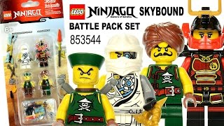 LEGO® Ninjago™ Sky Pirates 853544 Battle Pack Set w/ Tournament Zane Samurai X & Foot Soldiers