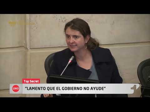 Top Secret: Paloma Valencia se despachó en contra el Gobierno por no apoyarla