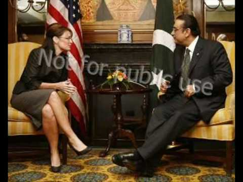 "FACE BOOK OF PAKISTAN - ""Sarah Palim With Asif Zardari"""