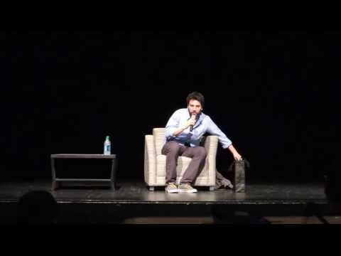 Josh Radnor (Ted Moseby) speaks at UCLA