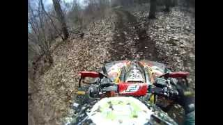 AWRCS 2015 practice.  Can Am Renegade 800XXC 4x4.