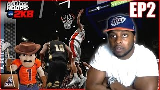 COLLEGE HOOPS 2K8 LEGACY MODE SETUP VIDEO!!! RECRUITING, STARTING LINEUP, ECT...  EP 2