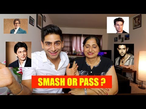 HOT OR NOT  WITH MY MOM Feat. BOLLYWOOD AND HOLLYWOOD CELEBRITIES