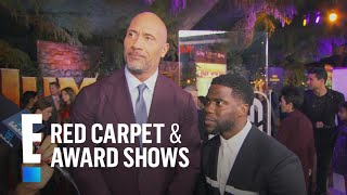 "Kevin Hart Teases Dwayne Johnson Over ""Good"" Baby News 