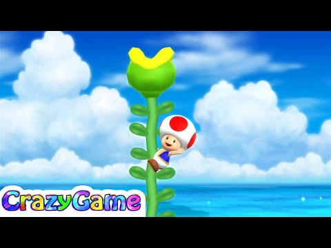 Mario Party 9 Step It Up #33 Toad vs Mario Gameplay (Free for All Minigames)
