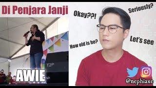 Awie Di Penjara Janji Live 2016   REACTION - Musik76