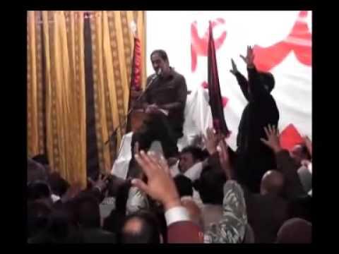 Ghazanfar Abbas Tonsvi In 5th Majlis Of Ashra Majalis Unwan Bibi Sakina(sa) 2013 video