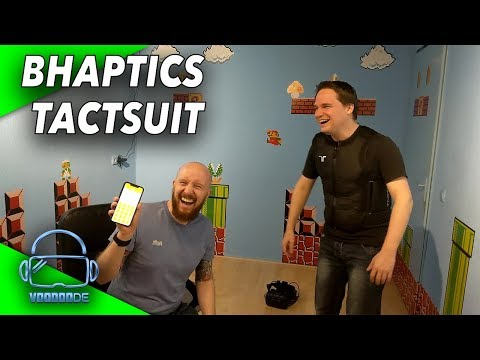 BHAPTICS TactSuit ausprobiert! - Die totale Immersion? [Virtual Reality]