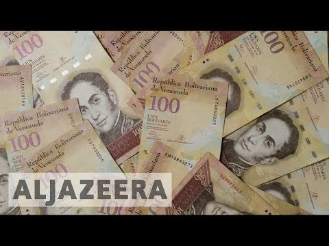 Venezuela: Long queues at banks due to cash crisis