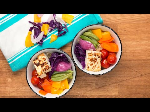 Protein-Packed Rainbow Bowl For Two