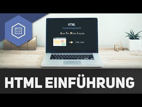 HTML Einführung - HTML 1