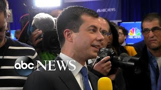 Pete Buttigieg addresses impeachment probe post-Democratic debate l ABC News