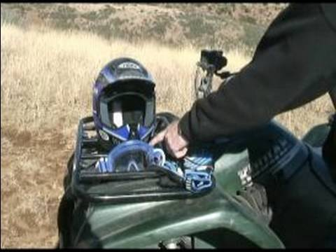 Quad & ATV 4-Wheeler Driving Basics : Quad & ATV 4-Wheeler Riding...