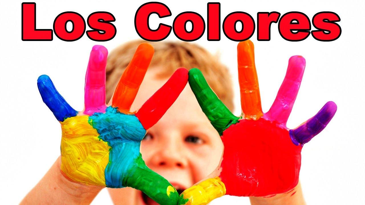 Los Colores en Espanol Para Ninos Los Colores en Espa ol
