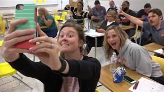 Teachers acting like students