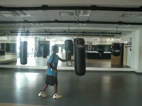 Tiger Junior @ Boxing Camp--Revolution Golf--June 28, 2012