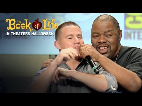The Book of Life | Biz Markie, Channing Tatum 'Just a Friend' at ComicCon 2014 | 20th Century FOX klip izle