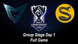 SSG vs SPY | Group Stage Day 1 | World Championship 2016 League of Legends