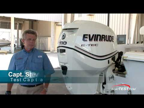Evinrude E-TEC 130 H.P. Engine Features Reviews - By BoatTest.com