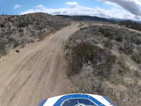 Hillclimb behind cottonwood campground